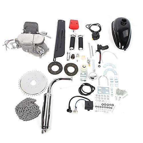 Xinwoer Kit Motore Bici, Kit Motore Bici 2 Tempi 100cc Kit Motore motorizzato a Gas