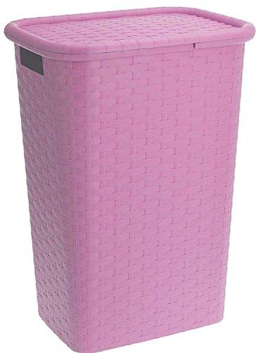 Eliware Wäschekorb 60 Liter   Pink
