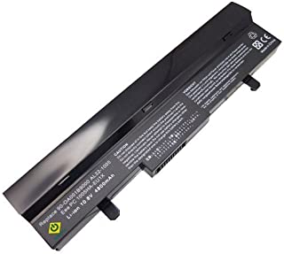 Asus Eee PC 1005 AL31-1005 AL32-1005 1005HAGB 1005HA 1005H 1005HAB 1005HA-A 1101HA 1101HAB 1101HGO 1104HA 1106HA Series 6-cells Replacement NetBook High Capacity Notebook Battery Black