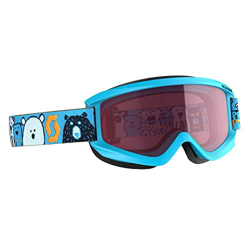 Scott Junior Agent Google Blau, Kinder Skibrille, Größe One Size - Farbe Blue Enhancer