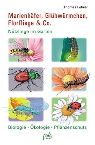 Marienkäfer, Glühwürmchen, Florfliege & Co.: Nützlinge im Garten Biologie, Ökologie, Pflanzenschutz