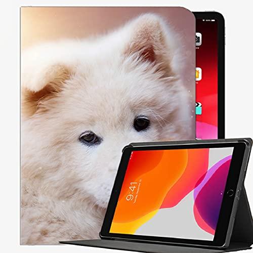 para 2019 iPad Air 3 10.5 / 2017 iPad Pro 10.5 Pulgada Funda, Caja Blanca del Perro de Puppy Dog Shell Delgado para iPad Pro 10.5 Pulgadas