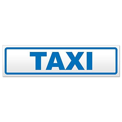 Kiwistar Panneau magnétique Taxi, Bleu, 45x12 cm