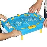 Futbolín 7 en 1 Mesa de Juegos múltiples, Mesa de Billar Fútbol Glide Mesa de Hockey Baloncesto Bolos Juegos de Mesa Arcade