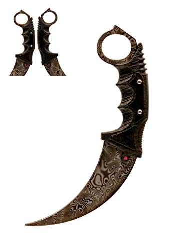 ARIKnives CS GO Karambit Elite - Damascus Steel - CSGO Knife Skin Counter Strike Global Offensive Jagdmesser Survival