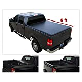 YABOLAN Soft Roll-Up Tonneau Cover Fit 94-03 S10/Sonoma 96-00 Hombre 6' Fleetside Bed