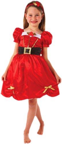 amscan- Déguisement Miss Noël, Girls, 995048, 6-8 ans
