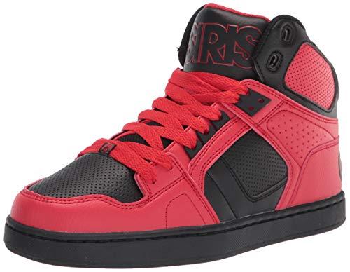 Osiris Herren Skate-Mountainbiking-Schuh, (rot/schwarz), 39.5 EU