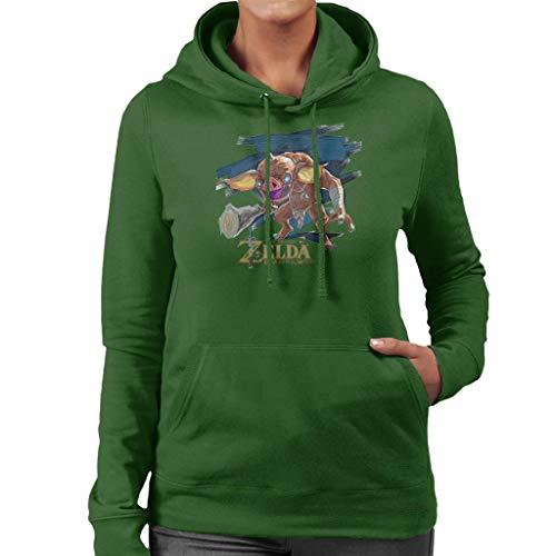Cloud City 7 Zelda Breath of The Wild MoPAR Women's Hooded Sweatshirt
