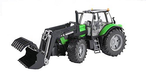 Traktor: Deutz Agrotron X720 m Frontlader (ca 45cm) von Bruder 03081