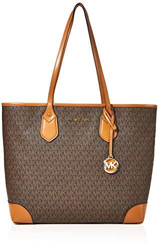 Michael Kors Women's Tote Bag, (Brown), 15x10x5 cm (W x H x L)