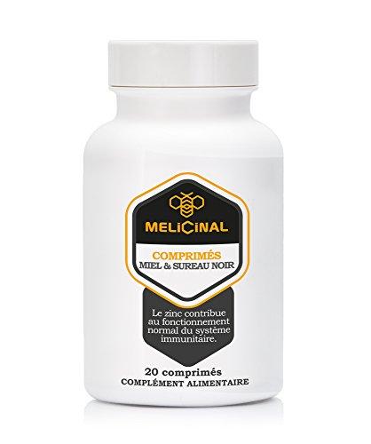 MELICINAL und Holunder * Mit Gelee-Royal *20 Tabletten * Bei Halsbeschwerden und Grippe