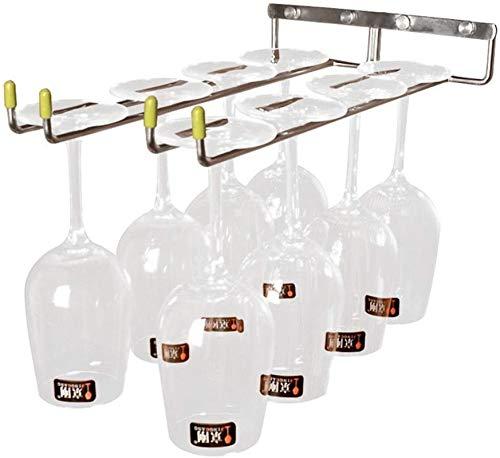 TUHFG Estantería de Vino Rack de Vino de 14 Pulgadas de Largo Debajo del gabinete con gabinete de Vino Rack de Vino de Acero Inoxidable Soporte de Vino de Vino de Acero Inoxidable.