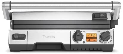 Breville-BGR820XL-Smart-Grill,-Electric-Countertop-Grill,-Brushed-Stainless-Stee