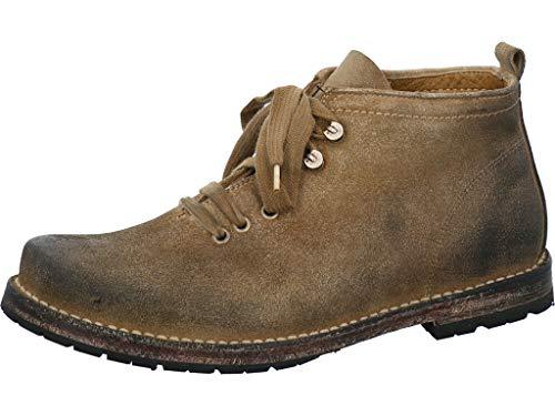 Dirndl & Bua Haferlschua/Stiefel Größe 41 EU Grau (Schlamm)