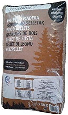 Pellets de bois Din Plus A1 Sac de 15/kg