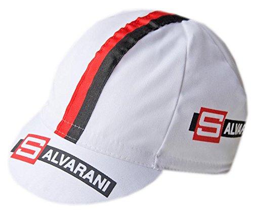 Gorra de ciclismo Salvarani Retro de algodón