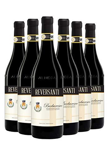 Reversanti Barbaresco - Vino Piemontese Rosso - DOCG - 0.75L (6 Bottiglie)