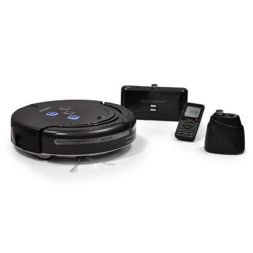 Klarstein Aspirapolvere robot lucida pavimenti senza fili (rilevamento spazio, lampade UV, full-go, senza sacco)