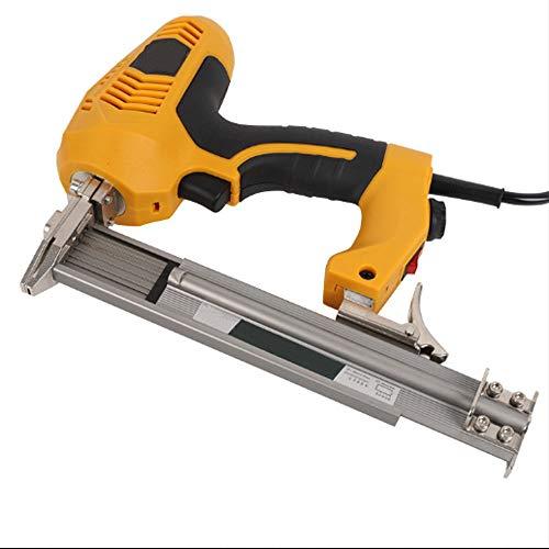 Pistola de clavos 2300W Clavadora eléctrica con potencia ajustable Clavo recto Grapadora...