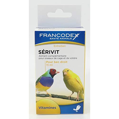 francodex–Lebensmittel sérivit den Vitaminen und Spurenelementen für Auslauf Recht–15ml