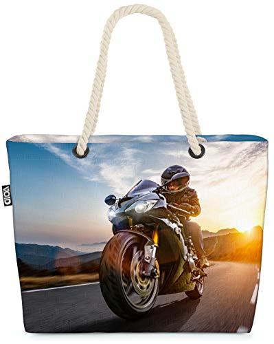 VOID Tour en Motocicleta Bolsa de Playa 58x38x16cm 23L Shopper Bolsa de Viaje Compras Beach Bag Bolso