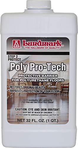 Lundmark Poly-Pro Tech, Protective Barrier for Polyurethane Floors, 32-Ounce, 3228F32-6