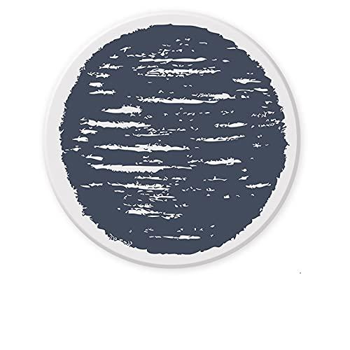 CNYG Posavasos antideslizantes resistentes al calor, decorativos para el hogar, posavasos redondos para cuencos, tazas, vasos, regalos para amigo C02 10,3 x 0,8 cm