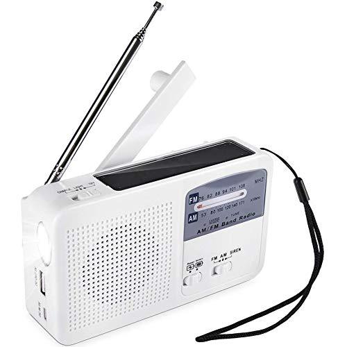 WFGZQ Radio portátil Am/FM, Radio de Bolsillo Retro con la Mejor recepción, Conector para Auriculares, Transistor Personal a batería para Trotar, Caminar y Viajar