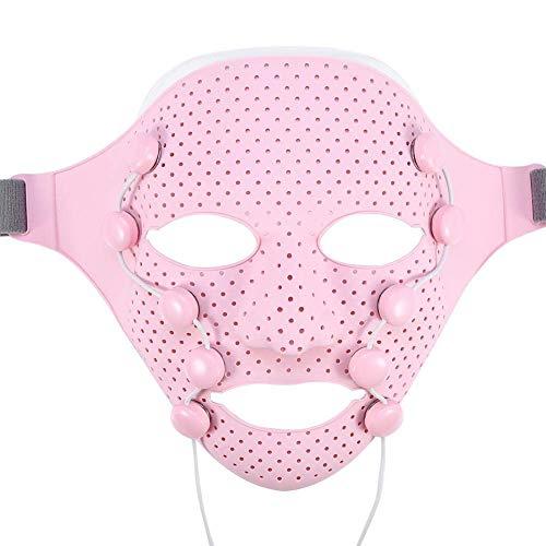 Facial Massage Mask, Face Massager 3D Magnetic Vibration Massage SPA Beauty Mask