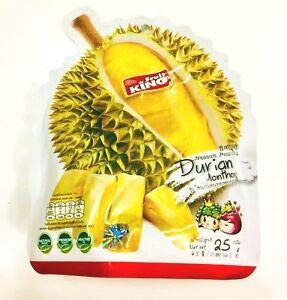 Weekly update Fruit King Dealing full price reduction Vacuum Freeze-dried Durian g. Monthong 25 Natural Sna