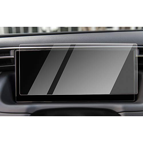 CDEFG Tucson NX4 2021 Update Auto Navigation Schutzfolie Glas 9H Kratzfest 10,25 Zoll GPS Transparent Displayschutzfolie Navi Folie Zubehör (Dashboard)