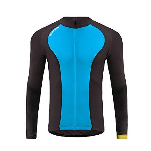 Uglyfrog #27 Neue Männer Radfahren Langarm Radfahren Jersey eine Menge Farben Antislip Ärmel Cuff Road Bike MTB Top Riding Shirt