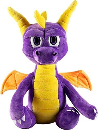 Neca - HugMe Drachen-Plüschtier Spyro, Mehrfarbig (HGP002)