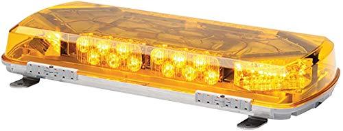 "Whelen Engineering Century Series Super-LED Mini Lightbar, 16"" PERMANENT MOUNT - Amber"