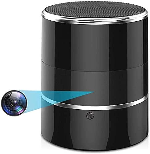 Hidden Camera WiFi Spy Camera Nanny Cam with Bluetooth Speaker, Spy Cameras Wireless Hidden with...