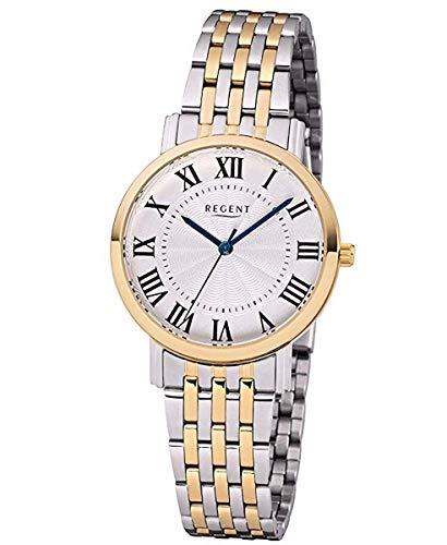 Regent Uhr Damen Edelstahl Armbanduhr Modell DM 8059 roségoldfarben