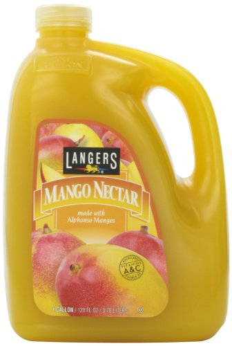 Langers Juice, Mango Nectar, 128 Ounce