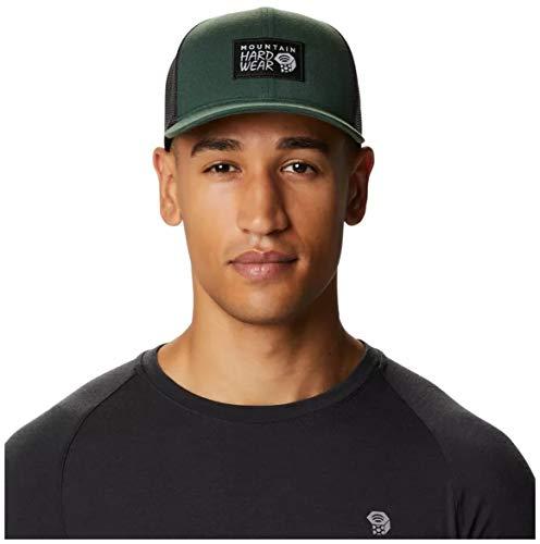 Mountain Hardwear Standard MHW Logo Trucker Hat, Black Spruce, One Size