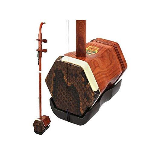 Erhu, rotes Sandelholz Erhu, Anfänger spielen Erhu, spielt Shanghai nationale Musikinstrumente (Größe: 82cm) HUERDAIIT (Size : 82cm)