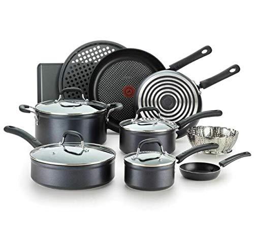 T-fal 14-Piece Forged Aluminum Non-Stick Cookware Set