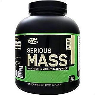 Optimum Nutritin Serious Mass Vanilla Flavor, 6 Lb