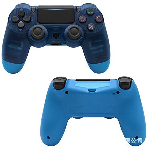 Manette de jeusans filPDTZpour manette de jeu PS4 PS4 GamepadClear Blue