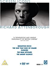 Richard Attenborough Collection (Brighton Rock / the Ship That Died of Shame / Private's Progress / Brothers in Law / Dunkirk / the Man Upstairs / the Angry Silenc...)[Region 2]