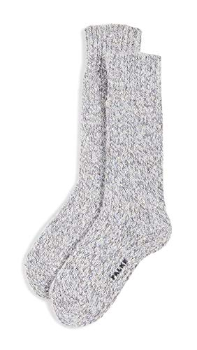 FALKE Damen Casual Feel Socken, grau (Silver 3290), 39-42 (UK 5.5-8 Ι US 8-10.5)