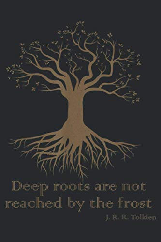 Deep Roots Are Not Reached By Frost Yoga Lover: Notebook Planner -6x9 inch Daily Planner Journal, To Do List Notebook, Daily Organizer, 114 Pages