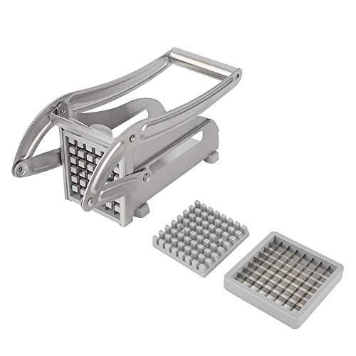 Coupes de frites de frites de pommes de terre de ménage en acier inoxydable avec accessoires de cuisine pieds antidérapants