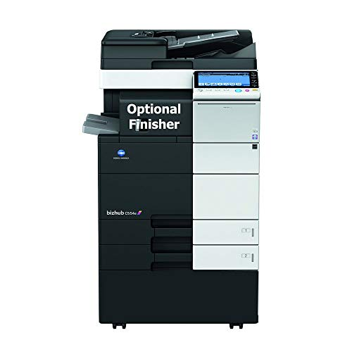 Read About Konica Minolta BizHub C554e Color Multifunction Copier - 55ppm, Tabloid, Copy, Print, Sca...