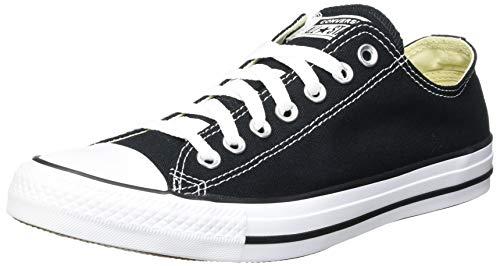 CONVERSE Unisex-Erwachsene Converse All Star OX Black M91 Sneakers, Schwarz (Black/White), 45 EU