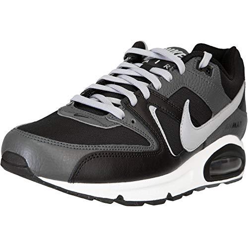 Nike Air Max Command - Zapatillas de piel, color Negro, talla 44.5 EU